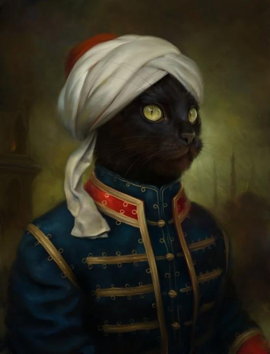 冬宮閣摩爾貓