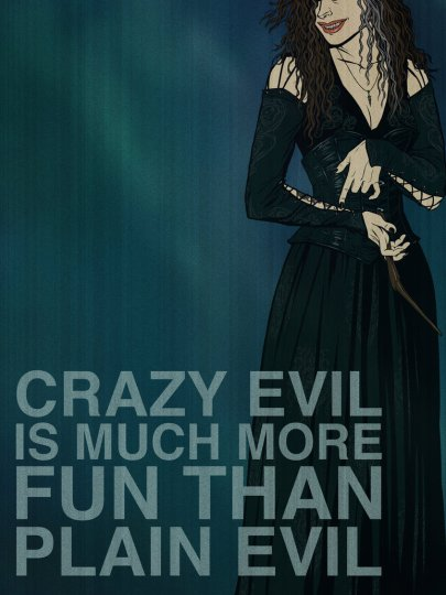 Crazy Evil Is Much More Fun Than Plain Evil
