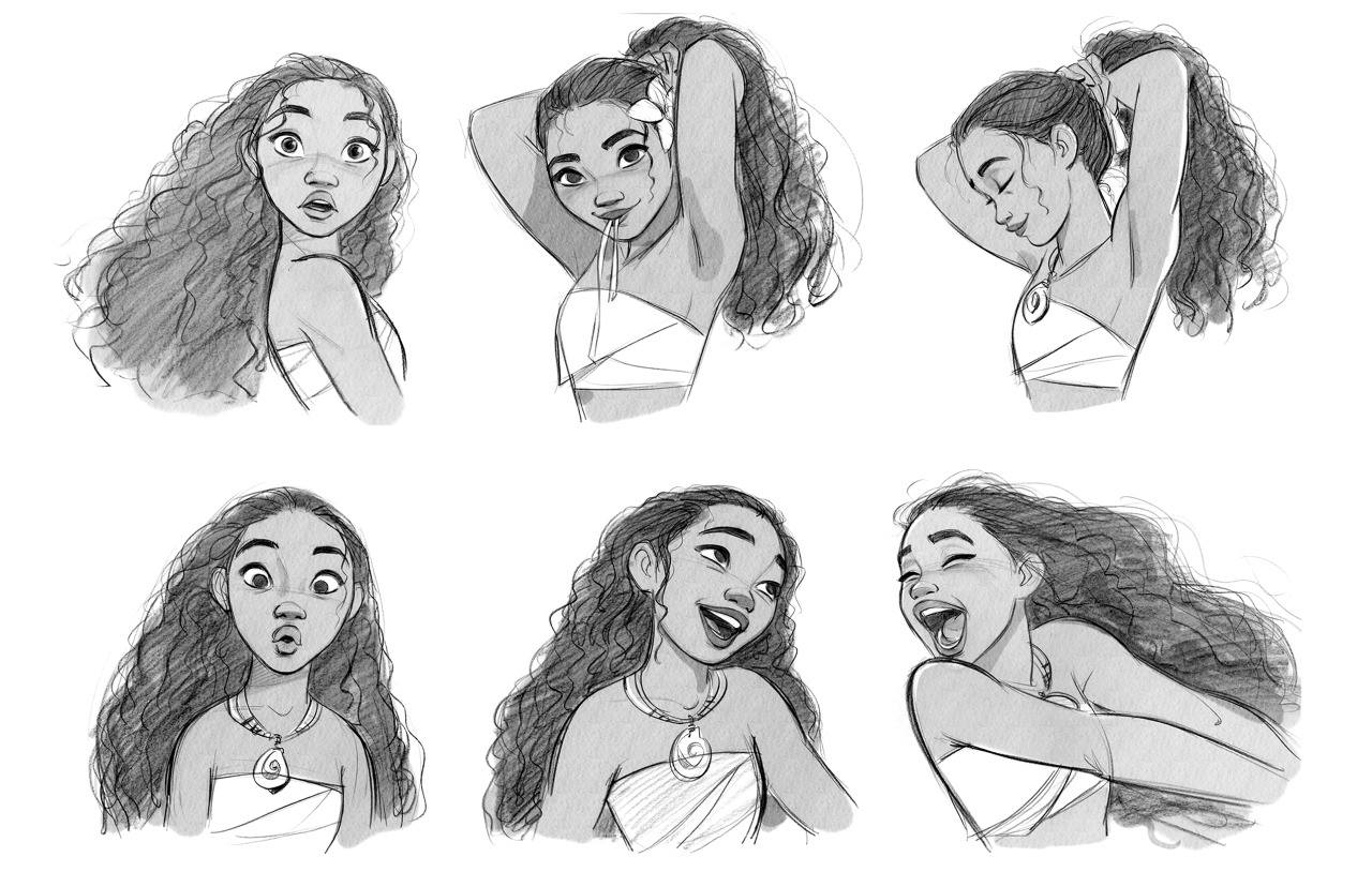 the art of Moana hgmn