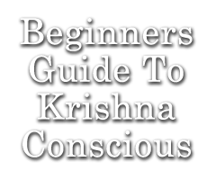 Beginners Guide To Krishna Conscious