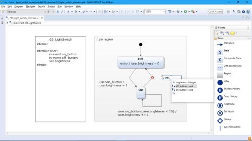 small resolution of  itemis yakindu statechart tools editing