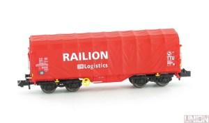 Planenhaubenwagen Railion DB Logistics