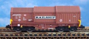 Teleskophaubenwagen Railship