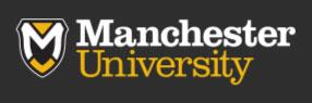 Manchester University College of Pharmacy logo