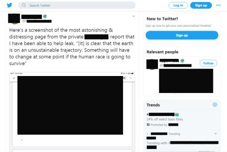 Twitter Leaked Document