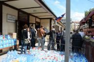 Kosovska Mitrovica - prikupljanje pomoći za poplavljene