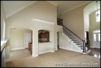 Vaulted Ceiling Treatments - How to Create an Open Floor Plan