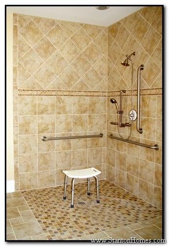 Accessible Bathroom Shower Designs  Wheelchair Accessible