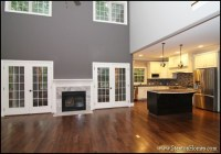 Fireplaces with Wainscoting Accents | North Carolina New ...
