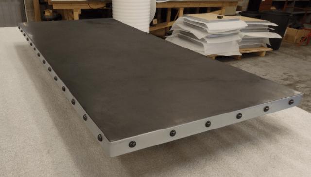 restaurant table tops marble metal