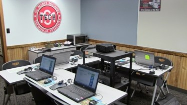 The training room at St. Marys Foundry