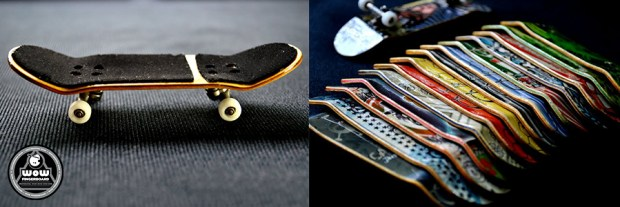 Wow Fingerboard ™ Production