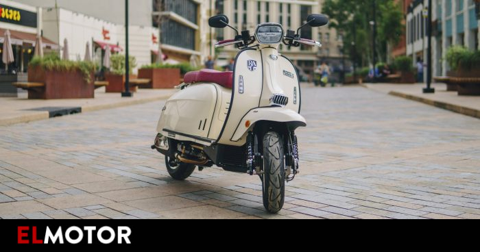 Royal Alloy GP 125 S: a new scooter reminiscent of the Vespa for 3,595 euros.  |  Motorcycles