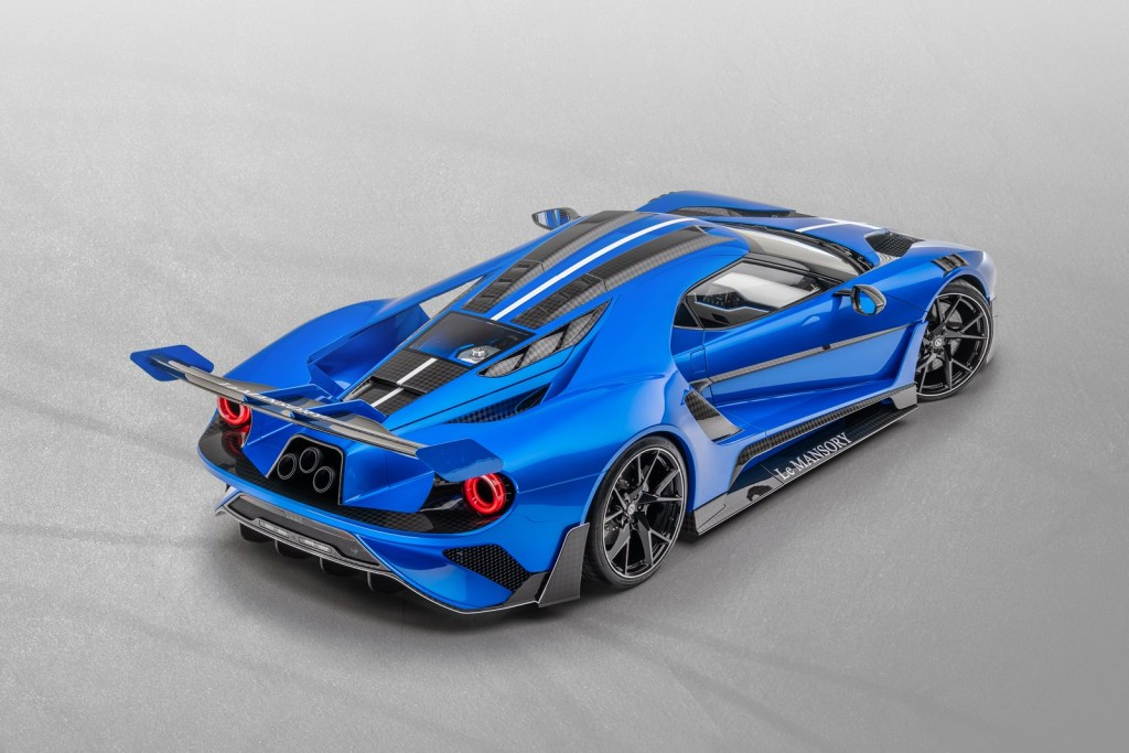 Did you want one of the three Ford GT Le MANSORY?  Here's one, but get your pocket ready ...