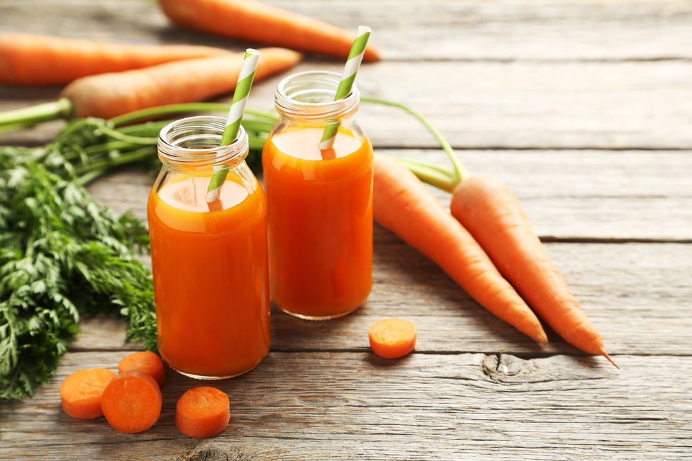 Benefits of carrot and turmeric juice