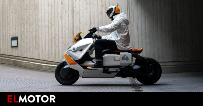 Definition CE 04, the future of urban motorcycles according to BMW | Motorcycles