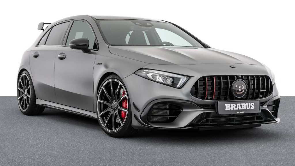 Up to 450 hp for the Mercedes-AMG A 45 S courtesy of BRABUS