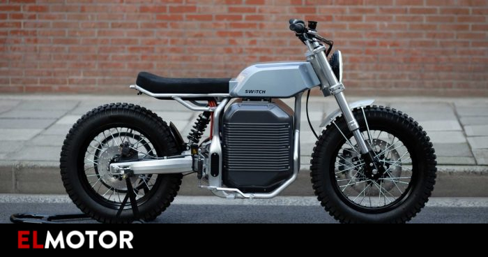 Switch eSCRAMBLER, a retro electric with 150 kilometers of autonomy   Motorcycles