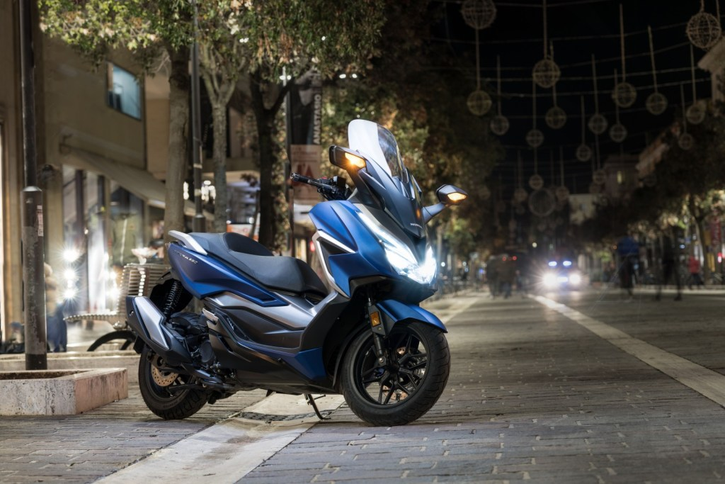 Now on sale the new Honda Forza 350: The best in the segment