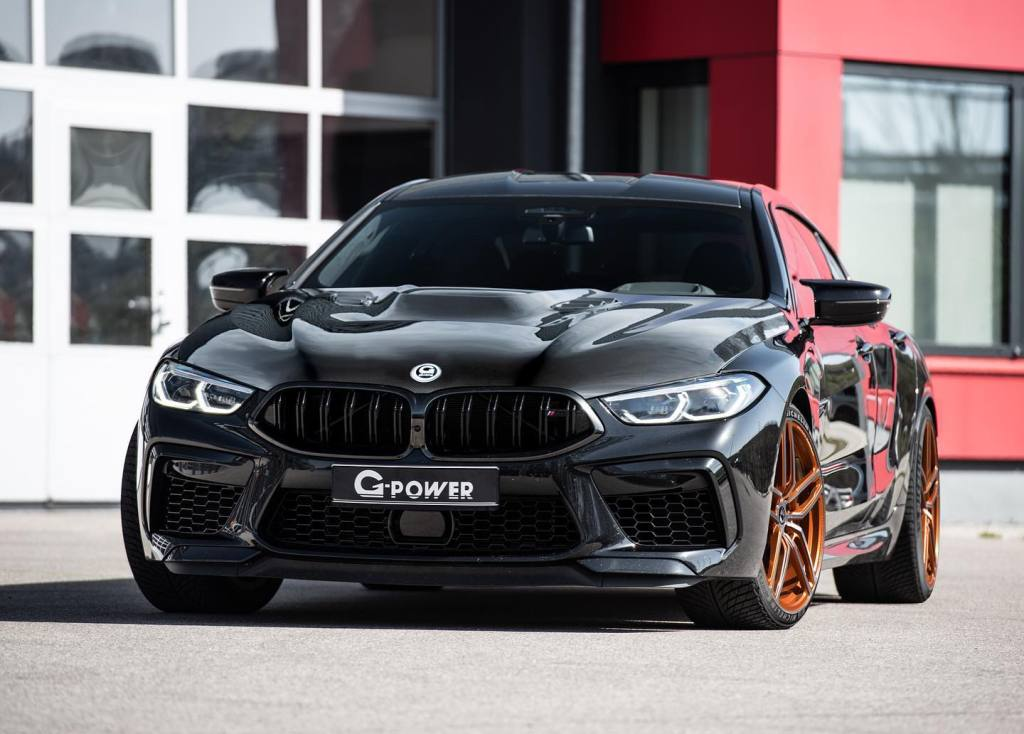 Don't settle for a 625 hp BMW M8 Gran Coupe if you can have it with 200 more hp