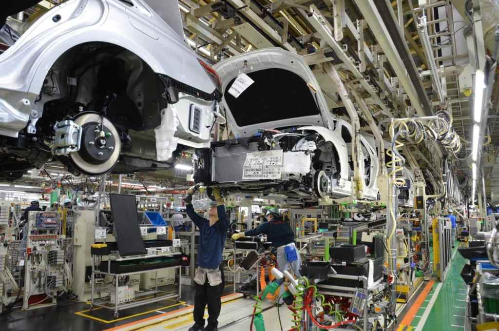 Hallucinate! These are all Toyota factories and the models that are manufactured in them