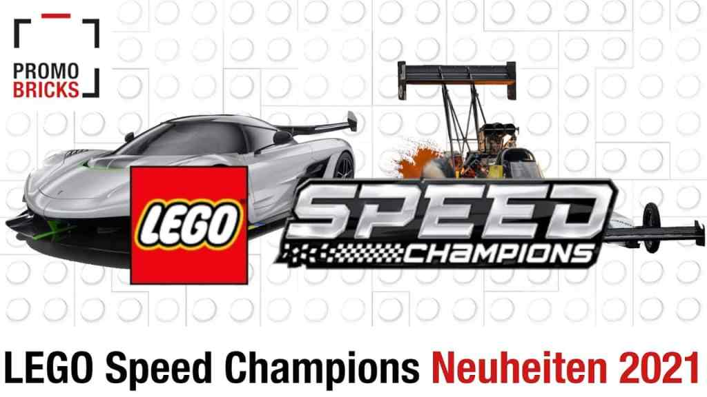 First details and news LEGO Speed Champions 2021 set