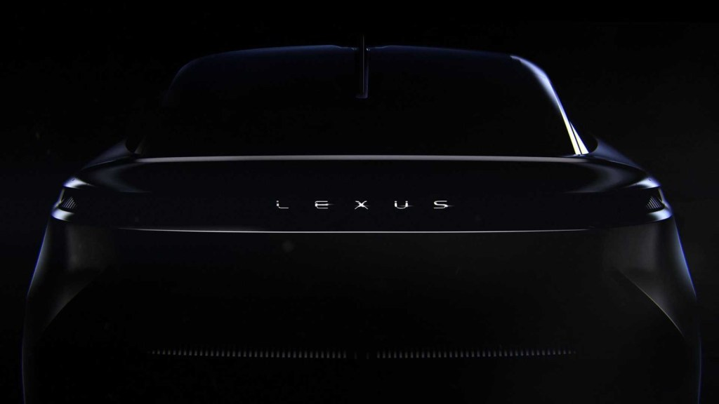 The future of Lexus can be seen in two new teasers ...