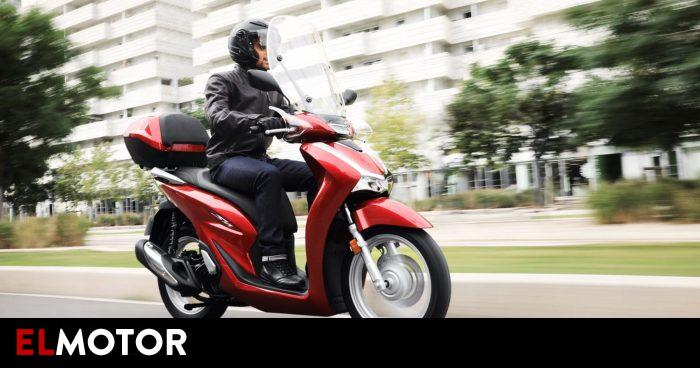 The motorcycles that are stolen the most in Spain