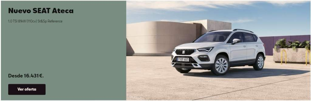 SEAT Ateca 2021, now for only € 16,431 well equipped