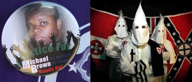 michael-brown-ferguson-klux-klan