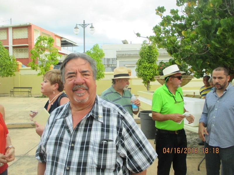 Juan Raul Mari Pesquera- Candidato a Senador en Acto a Jose de Diego