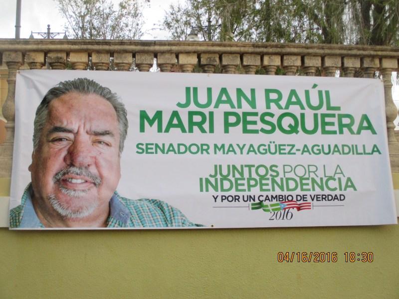 Juan Raul Mari Pesquera- Candidato a Senador