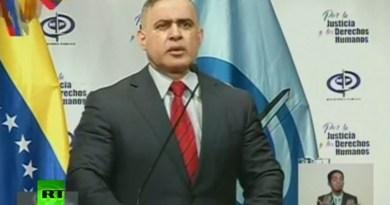 Fiscal general de Venezuela, Tarek William Saab.