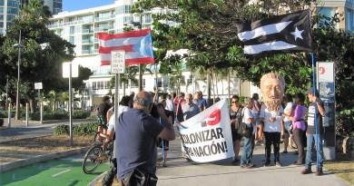 5ta Protesta Permanente Descolonizar Nuestra Patria en PR
