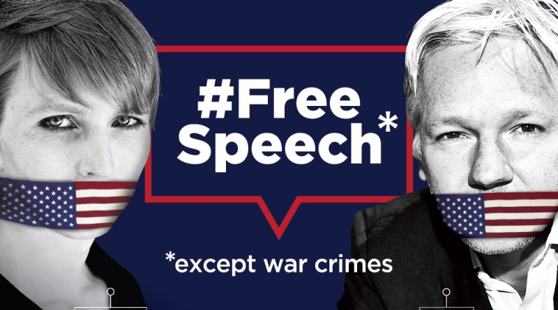 US' war on freedom of expression