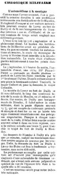 9 Essai de la route Lavey-les-Bains-Riondaz avec une voiture (1908)