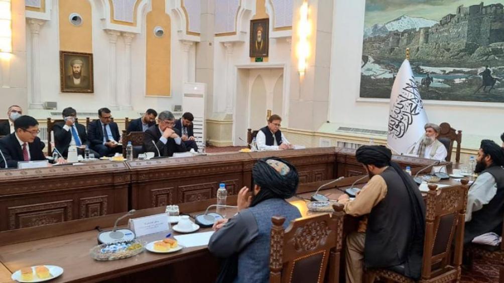 Durante el encuentro se trataron diversos temas que involucran a las relaciones entre los diferentes países. Foto: TW