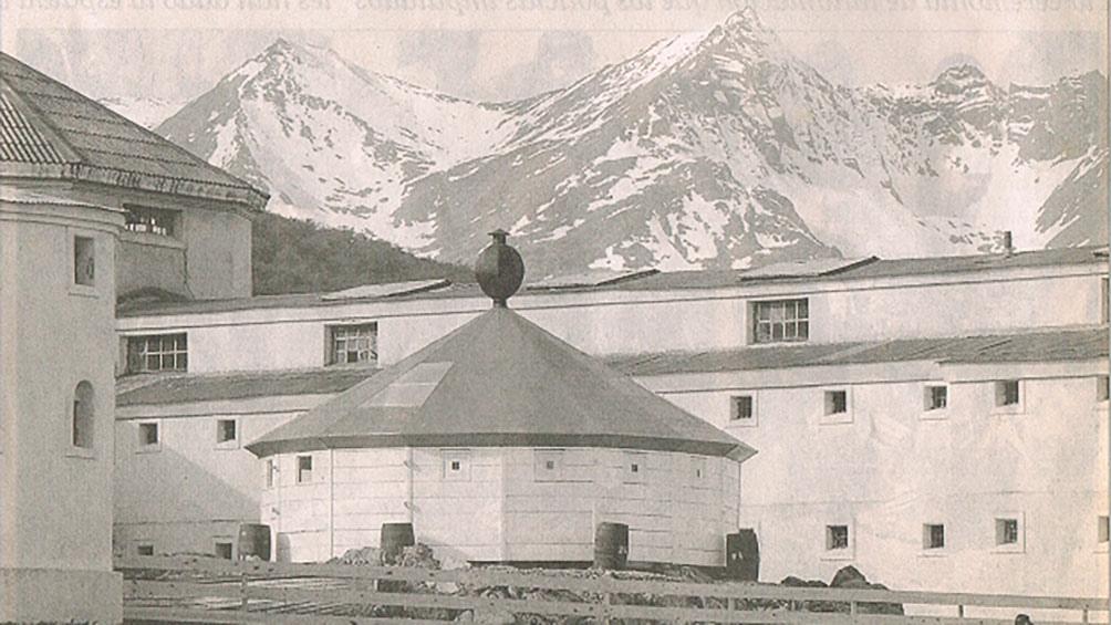 El mítico penal de Ushuaia, donde fueron llevados en un primer momento.