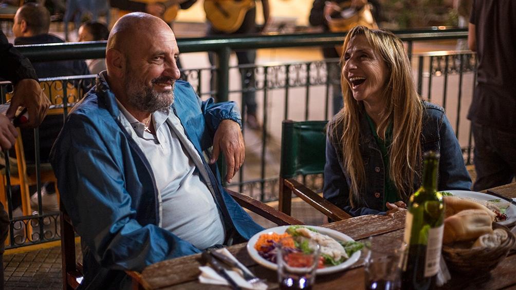 El Puma Goity y Gladys Florimonte, en el filme de Verdoia (Foto: Contento People)