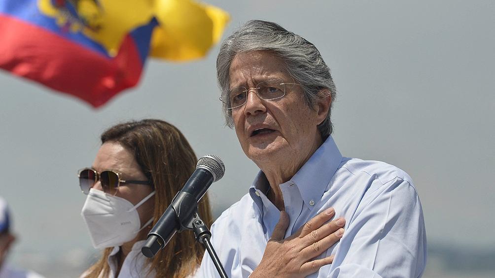 """""""Esta reforma no va a tocar el bolsillo de la mayoría"""", expresó Lasso."""