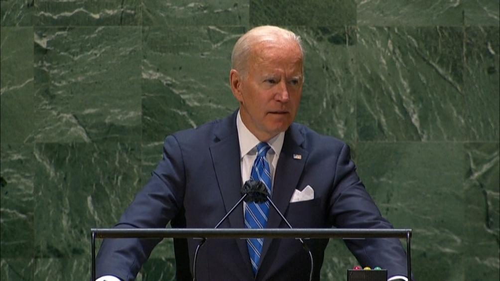 """Biden llamó a defender los derechos de las mujeres, comprometió 10 mil millones de dólares para """"terminar con el hambre"""" (Foto: AFP)."""