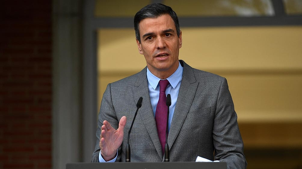"""""""Respeto los procedimientos judiciales que se abran en España o en Europa"""", dijo le presidente Pedro Sánchez."""