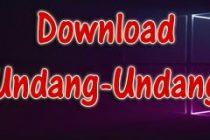 Download Undang-Undang Nomor 14 Tahun 2015