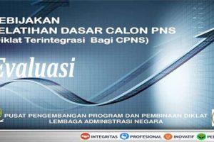 Evaluasi Pelatihan Dasar CPNS