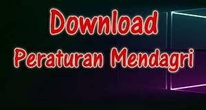 Download Permendagri Nomor 51 Tahun 2012