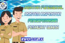 Jabatan Fungsional Asisten Inspektur Pengoperasian Pesawat Udara