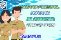 Jabatan Fungsional Inspektur Kelaikudaraan Pesawat Udara