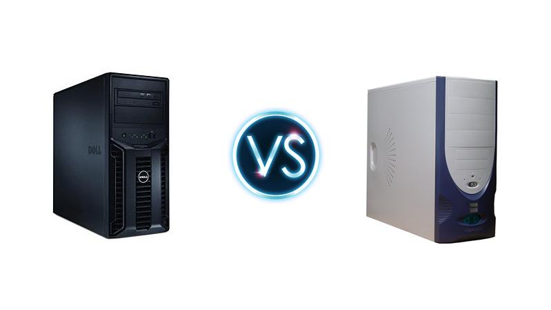 Servidor vs Computador