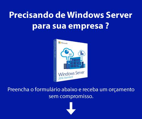 Solicite orçamento de Windows Server