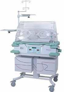 imagem de uma incubadora infantil